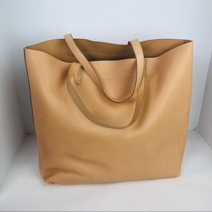 NEW Madewell transport Tote Purse Shopper Leather